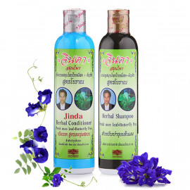Jinda Herbal Hair Shampoo and Conditioner, 250 ml