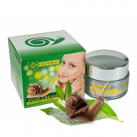 Night cream with snail secretion, collagen and elastin, 20 ml