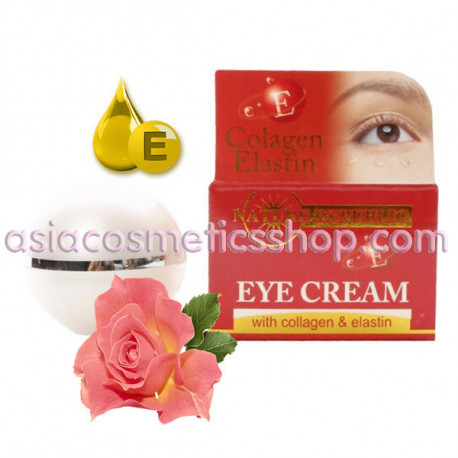 Крем для кожи вокруг глаз с коллагеном, эластином и витамином Е, 15 мл