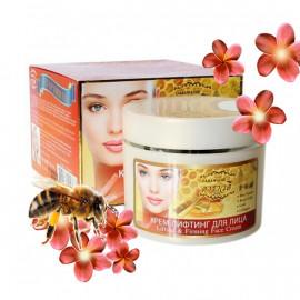 Лифтинг-крем для лица с пчелиным ядом, маточным молочком и коллагеном, 100 г