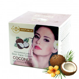 Face cream with coconut oil, 60 g