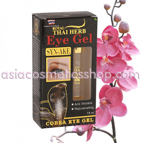 Royal Thai Herb Eye Gel Syn-Ake, 15 ml