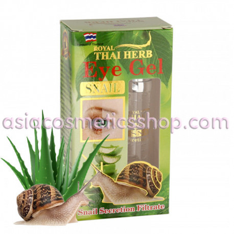 Royal Thai Herb Eye Gel Snail, 15  ml