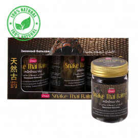 Banna Snake Black Balm, Set 3 pcs х 50 g
