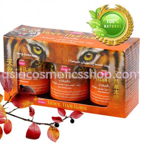 Banna Тайский тигровый бальзам, сет 3 шт х 50 г