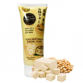 Habu Habu Tofu Whitening Facial Wash / Foam / Cleanser 130 g