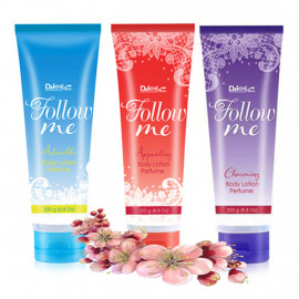 Daiso Follow Me Body Lotion Perfume, 250 g