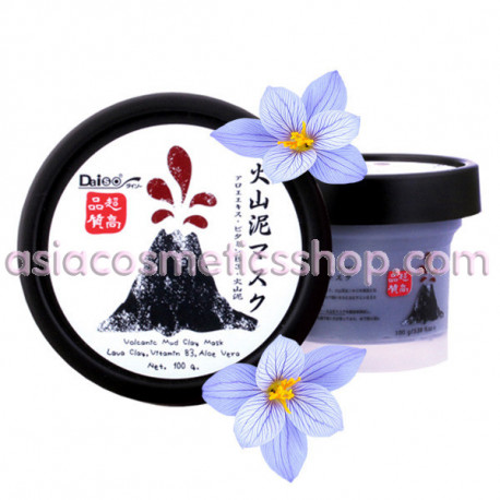 Daiso Volcanic Mud Clay Mask, 100 ml