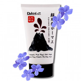 Daiso Volcanic Mud Peel Off Mask Anti Acne, 100 g