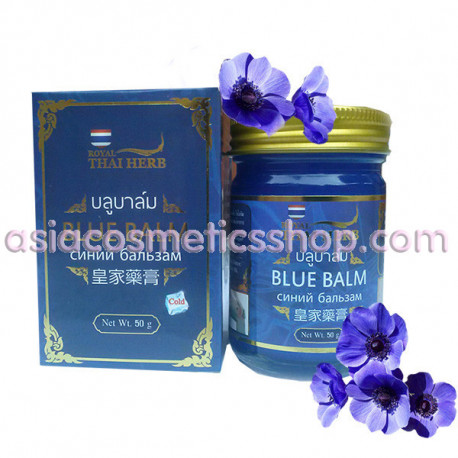 Thai blue Balm from varicose veins and tired legs, 50 ml