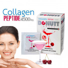 Donut Collagen Peptide 4500 Mg  for Rejuvenation 15 Sachet