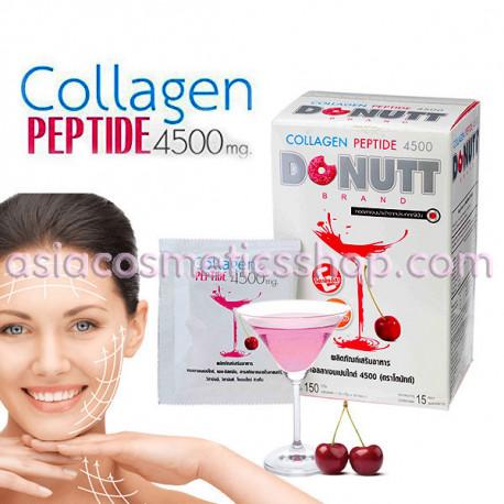Donut Питьевой Коллаген Пептид 4500 мг для омоложения, 15 шт
