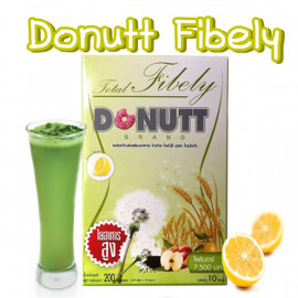 Donutt Detox Total Fibely 7500 mg for Weight Loss and Body Cleansing, 10 Sachet