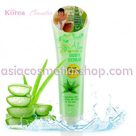 Moods My Aloe Soothing Gel Body Scrub 97%, 350 ml