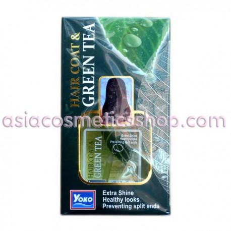 Сыворотка для сухих волос с зеленым чаем, 80 мл