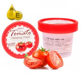 Daiso Ночная маска с томатом и витамином Е, 100 мл