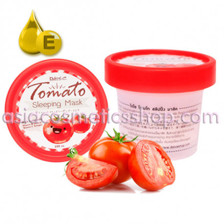 Daiso Tomato Sleeping Mask, 100 ml