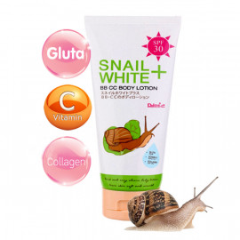 Daiso Snail White+ BB CC Body Lotion SPF 30, 100 g