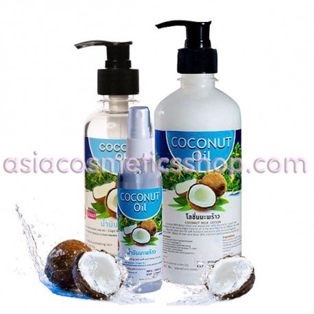 Coconut Massage Oil, 450 ml