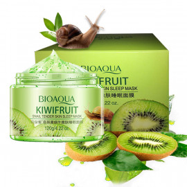 BIOAQUA Kiwi Fruit Snail Sleep Mask, 120 ml