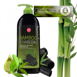 Cathy Doll Bamboo Charcoal Anti Acne + Oil Control Body Bath Gel 500 ml