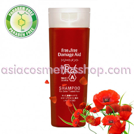 Free & Free Концентрированный сыворотка-шампунь для окрашенных волос, 180 мл