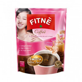 FITNE DIET Coffee 3 in 1 with Collagen & Vitamin C, 150 g