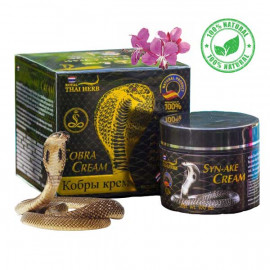 Royal Thai Herb Крем для лица с вытяжкой змеиного яда от морщин, 100 мл