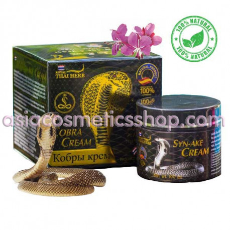 Face cream with extract of snake venom of wrinkles, 50 ml