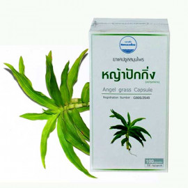 Kongka Herb Angel Grass Capsule for cleansing lymph, 100 pcs