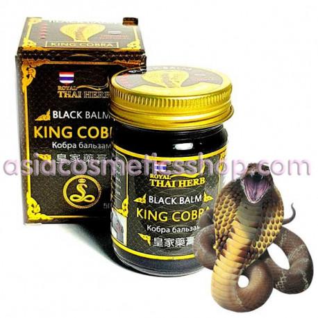 Royal Thai Herb Black Balm King Cobra, 50 g
