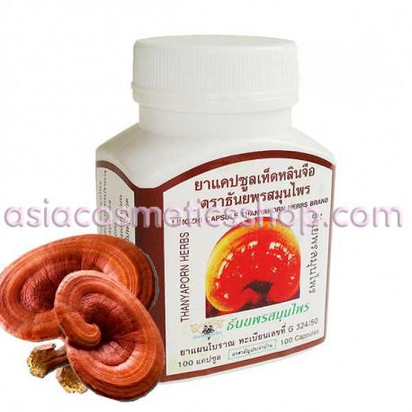 Thanyaporn Herbs Lingzhi (Reishi) Capsules, 60 g