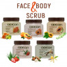 ODEON Face & Body Scrub for Soft, Healthy & Glowing Skin, 300 ml