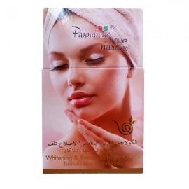 Pannamas Антивозрастной отбеливающий ночной крем для лица, 100 г
