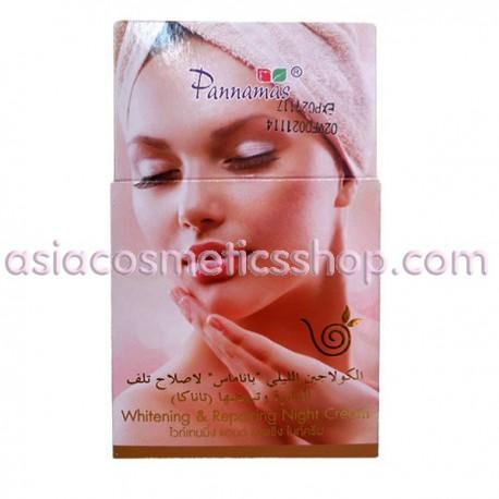 Антивозрастной отбеливающий ночной крем для лица, 100 г
