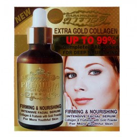 Intensive Face Serum with collagen and biogold, 50 ml