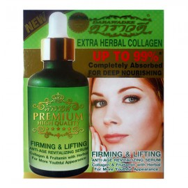 Herbal firming serum for the face with collagen, 50 ml