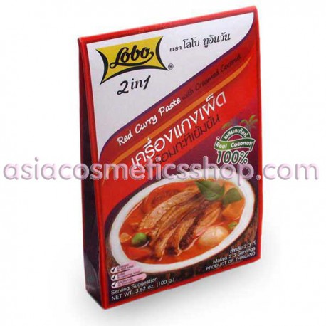 Lobo Паста Красное карри, 100 g