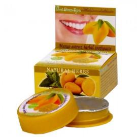 Тайская отбеливающая зубная паста с манго, 25 г