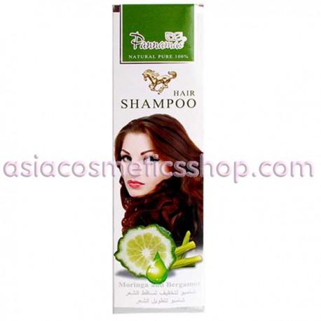 Pannamas Шампунь Моринга и Бергамот для жирных волос, 365 г