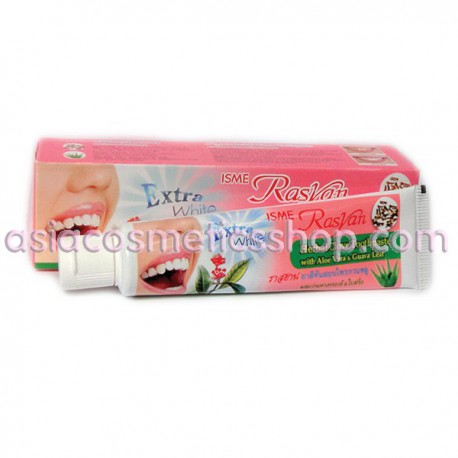 Whitening toothpaste with Aloe Vera and Guava, 30 g
