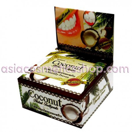 Thai Whitening Toothpaste with coconut, 25 g