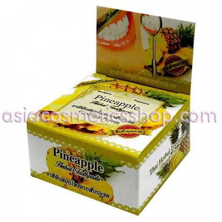 Thai Whitening Toothpaste with pineapple, 30 g
