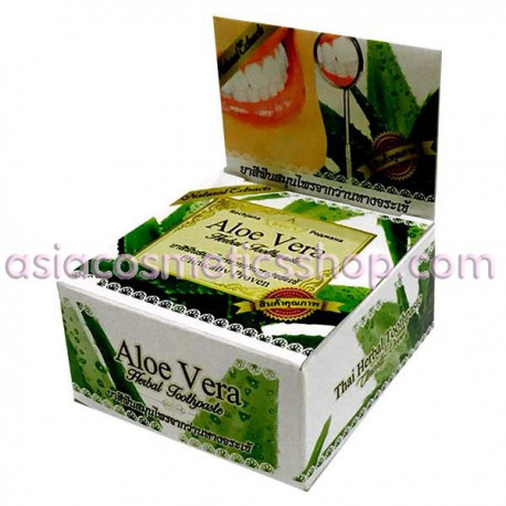 Thai Whitening Toothpaste with Aloe Vera, 30 g