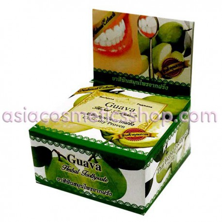 Thai Whitening Toothpaste with Guava, 30 g