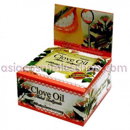 Thai Whitening Toothpaste with Clove Oil, 30 g