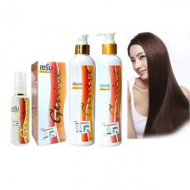 Genive Long Hair Set Serum Shampoo Conditioner Fast Growth Longer Treatment