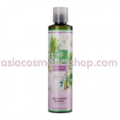 Lemongrass shower gel 200 ml lime
