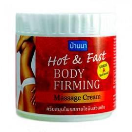 Banna Hot & Fast  Body Firming Massage Cream, 500 ml