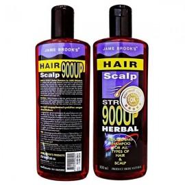 Jame Brooks Травяной шампунь для укрепления и быстрого роста волос, 300 мл